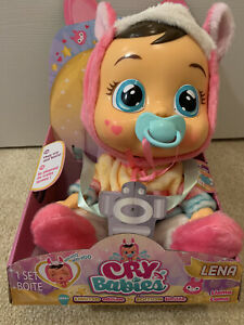 Cry Babies Lena Llama Doll Baby Wow Crying Doll - Limited Edition - New
