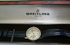 BREITLING CHRONOMAT  MIT SINGER CO  BRAND DIAL- REF.  769 - 18 KARAT GELBGOLD