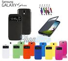 ETUI COQUE HOUSSE FLIP COVER S-VIEW POUR SAMSUNG GALAXY S4 MINI + FILM + STYLET