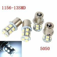4 PCs 5050 Cool White13 SMD LED Bulb 1156 1003 1141 RV TRAILER INTERIOR Light