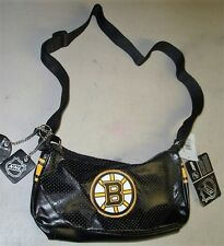 New NHL Boston Bruins Womens Girls Womens Helga Type Purse Hand Bag FREESHIP