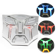 Autos Transformer Frame Emblem Badge Solar Power Flash Strobe LED Light Cheap