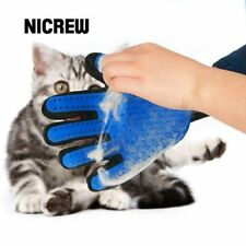 Pet grooming fur deshedding hair massage brush/glove for cat and dog animal