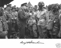 General President Dwight Eisenhower D-Day Troops 11 x 14 Photo Picture ga1