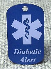 Personalized Medical Alert Dog Tag ,  ID Tag, ICE Tag