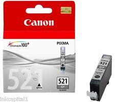 1 x Canon CLI-521GY Grey Original OEM Inkjet Cartridge For MP980, MP 980