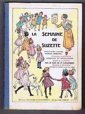LA SEMAINE DE SUZETTE. Album éditeur 1er semestre 1934