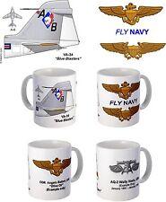 "VA-34 ""Blue Blasters"" A-6 Intruder Mug"