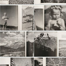 German Mountains 1930's in Photos by Photographer Erna Lendvai Dircksen w/58 pic