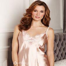 Ladies Ex M&S Per Una Silk Rich Floral Embroidered Camisole Sizes 10-22