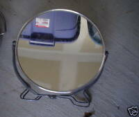 Vintage JAPAN Small Round Hanging Mirror LOOK
