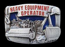 Construction Heavy Machinery Equipment Bulldozers Belt Buckle Boucle Ceinture
