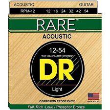 DR Strings RPM12 Corde Rare Phosphor Bronze 12-54
