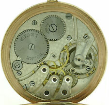 Rolex señores reloj de bolsillo pocket watch 375/9kt Gold carcasa aprox. 1920 muy raras