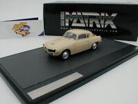 Matrix 41803-011 - Stanguellini Fiat 1100 Berlinetta Bertone in creme-weiß 1:43