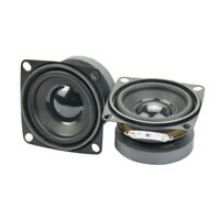 Aiyima 2pcs 2 inch 4ohm 5w Full Range Audio Speaker Woofer Loudspeaker Home DIY