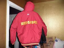 Vintage Washington Redskins Throwback Puffy Parka Starter Jacket Medium Mint!