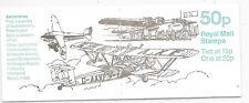 GB BOOKLET SG FB55 2/10/89 M.N.H.;AEROPLANES 1st IN SERIES.
