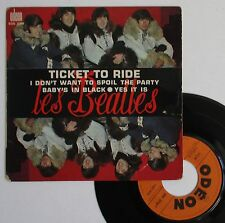"Vinyle 45T The Beatles ""Ticket to ride"""