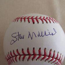 Stan Musial signed Official ML Baseball Steiner COA & Hologram & Steiner Holder