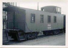 H863 RP 1960/70s? CB&Q RAILROAD CABOOSE #14359