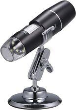 Microscope numérique portatif 50X 1000X Wifi avec 8 LED pour iPhone Android IPad