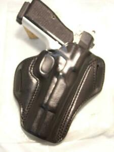 HP ALESSI Belt Speed Slide Gun Holster for BROWNING Hi High Power  All Calibers