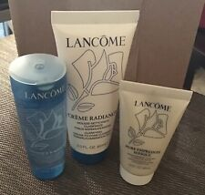 3 Pcs Lancome Normal/combination Skin Cleanser Travel Set.