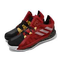adidas Dame 6 GCA CNY Damian Lillard Red Gold Black Men Basketball Shoes EH1994