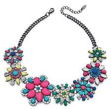 Cubic Zirconia Mixed Metals Costume Necklaces & Pendants