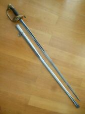 ANTIQUE WWII GREEK MILITARY SWORD GERMAN SABRE ALCOSO NAZI SOLINGEN FRENCH M1845