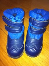 Toddler Boy Blue LL Bean LLbean Snow Winter Boots  7 Eeuc
