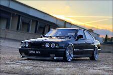 "1:18 Tuning BMW M5 E34 ""Black Edition"" + Alpina Alu-Felgen + Sportbremsscheiben."