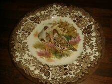 "VIINTAGE YET UNUSED PALISSY ROYAL WORCESTER GAME SERIES PARTRIDGE 7"" DIAM PLATE"