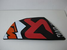 KTM RC8 RC8R 2008-2013 COOLER FAIRING PANEL RIGHT HAND SIDE IN AKRAPOVIC [58]