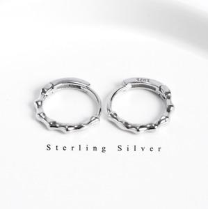 Sterling Silver 925 Small Huggie Hoop Earrings Hoop Men Women Gift 12x3mm F36
