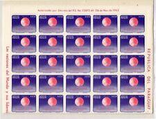 Paraguay Espacio Valor del año 1964 (DK-512)