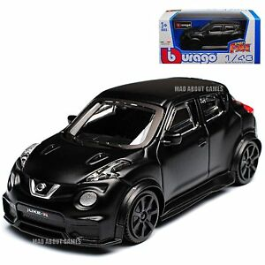 NISSAN JUKE 1:43 Model Diecast Models Die Cast Matte Black Car Toy