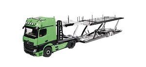 1/18 NZG Mercedes-Benz Actros Truck & NZG Lohr Autotransporter/Car Transporter