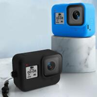 For Gopro Hero 8 Camera Soft Silicone Protective Case Floaty Floating Waterproof