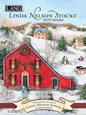 LINDA NELSON STOCKS - 2019 MONTHLY PLANNING CALENDAR - LANG PLANNER 12100