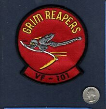 VF-101 GRIM REAPERS US NAVY Grumman F-14 TOMCAT Fighter Squadron Patch
