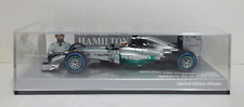 MINICHAMPS LEWIS HAMILTON 1/43 MERCEDES W05 N.44 WINNER 2014 JAPANESE GP 666 PCS