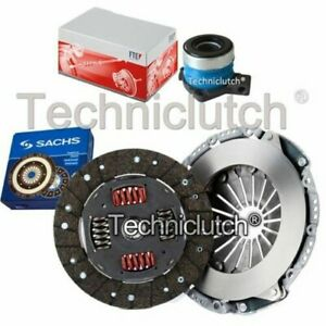 SACHS 2 PART CLUTCH KIT AND FTE CSC FOR SAAB 900 CONVERTIBLE 2.0 16V TURBO