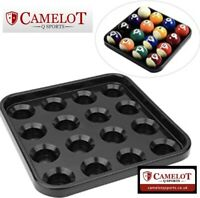 "POOL 16 BALL TRAY...""2"" ""2 1/4..FREE DELIVERY... (BALLS NOT INCLUDED!)"