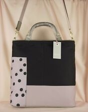 "Radley ""Cadnam"" Black and Beige Nylon Medium-Large Multiway Cross Body Bag New"