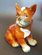 Goebel Brown BOXER CHIEN CHIOT figurine-Sitting CH 569