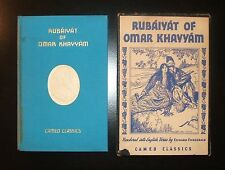 RUBAIYAT OF OMAR KHAYYAM, Cameo Classics in Slip Case, Illustrated