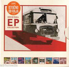 ORIGINAL EXTENDED PLAY Collection ISTOCNO OD RAJA 9 CD Box 2014 EP Croatia Hit