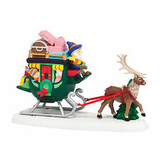 Department 56 North Pole Sleigh Ride Elf Accessory New 4036560 Np 2014 D56 2014